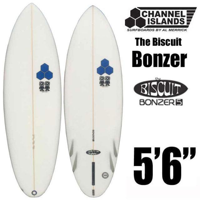 """サーフボード CHANNEL ISLANDS チャンネルアイランド The Biscuit Bonzer 5'6""""◆ショートボード"""