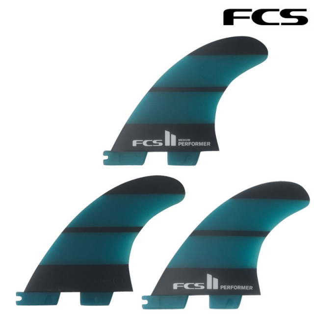 FCS2 PERFOMER Neo Glass THRUSTER 3FINS ハイパフォーマンスフィン/ショートボード サーフィン