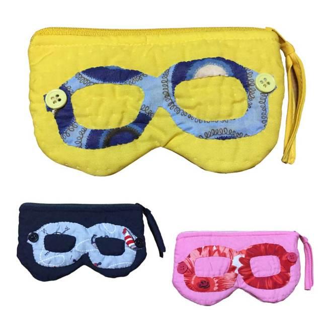 ハワイアンキルト 眼鏡ケース/Hawaiianquilt メガネ 小物入れ ペンケース