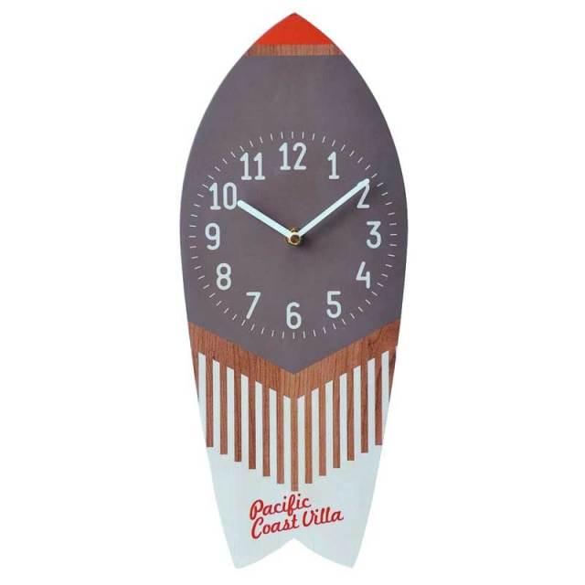 キーストーン P.C.VILLA サーフボードクロック/サーフボード型時計 ギフト