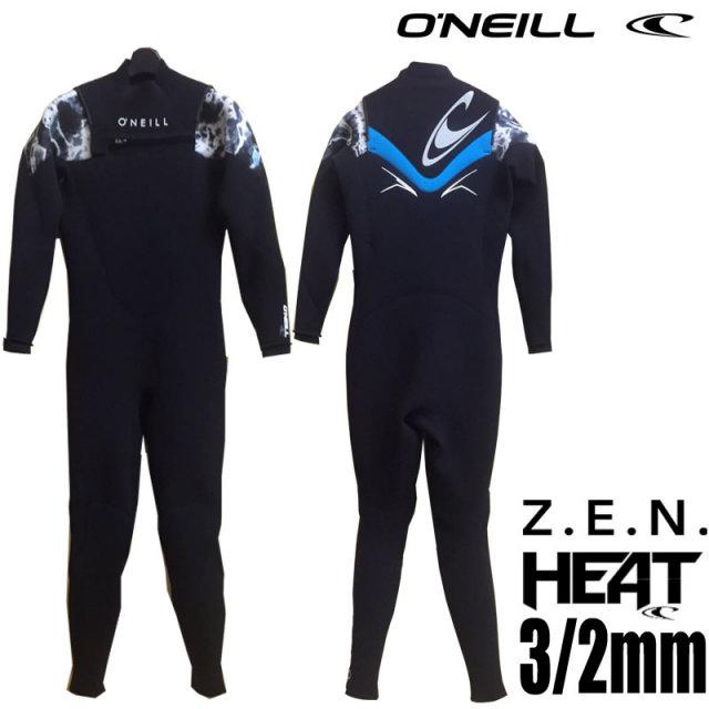 O'NEILL オニール ウェットスーツ 3/2mmフルスーツ HEAT ZEN NOZIP PRO SHOP LIMITED MODEL XSF-9560/男性用 サーフィン