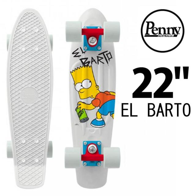 Penny Skateboards ペニー LIMITED EDITION SIMPSONS EL BARTO 22インチ PNYCOMP22376/ミニクルーザー