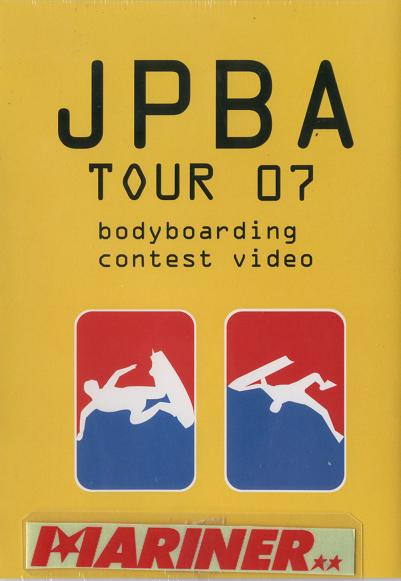 JPBA TOUR 07 夷隅・生見・木崎浜・鴨川の全4戦を収録!トッププロの技を盗むには絶好のDVDです/ボディボードDVD サーフィン
