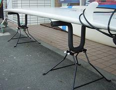 【送料無料キャンペーン】サーファーズスタンドポータブルSURFER'S STAND PORTABLU /サーフボードスタンド ボードラック サーフィン