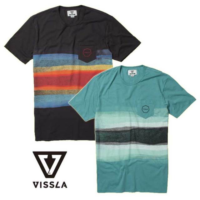 メンズTシャツ VISSLA Super Wolf Knit Crew M9118SUP16SP