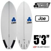 チャネルアイランドサーフボード SURFTECH AVERAGE JOE 5'3 サーフテック アベレージジョー CHANNEL ISLAND