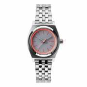 NIXON 腕時計 SMALL TIME TELLER SILVER/NEON PINK NA3991764-00 レディース