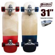 ウッディプレス スケートボード WOODY PRESS WOODY31インチ/ SK8 サーフスケート サーフィン