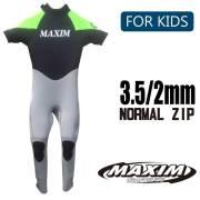 子供用ウェットスーツ シーガル MAXIM & MARINER マキシム&マリーナ  3.5/2mm ノーマルジップ