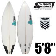 サーフボード CHANNEL ISLANDS チャンネルアイランド  New Flyer5'8/PUショートボード