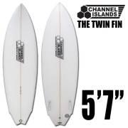 サーフボードCHANNEL ISLANDS チャンネルアイランド THE TWIN FIN 5'7