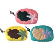 ハワイアンキルト Hawaiian Quilt スターフィッシュポーチ/化粧ポーチ 小物入れ ハワイアン雑貨
