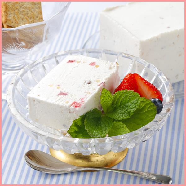 シチリア風アイスチーズケーキ