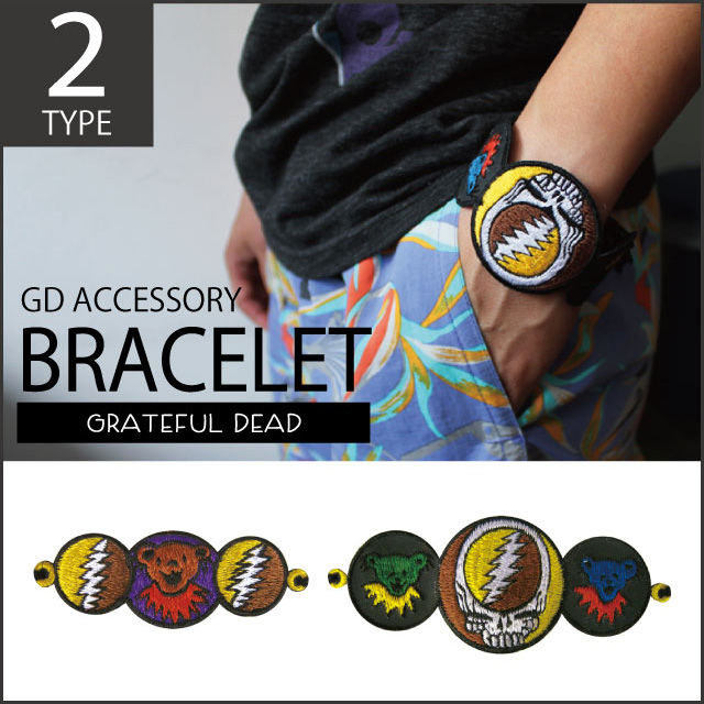 GD SYF&BEAR EMBROIDERED BRACELET ブレスレット