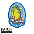 PRAY FOR BEER PATCH
