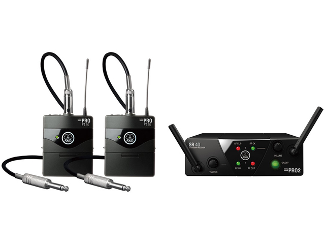 【即納可能】AKG WMS40 PRO MINI2 INSTRUMENTAL SET DUAL(新品)【送料無料】