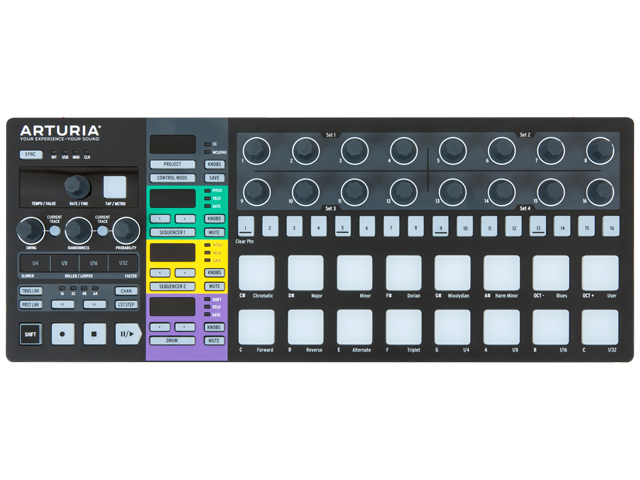 Arturia BeatStep Pro Black Edition W/Cable(新品)【送料無料】