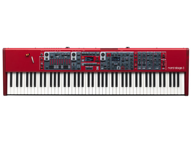 Clavia Nord Stage 3 88 シンセ...