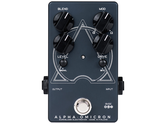Darkglass Electronics Alpha Omicron Overdrive(新品)【送料無料】