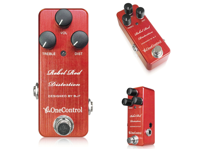 【即納可能】One Control Rebel Red Distortion(新品)【送料無料】
