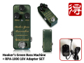 One Control Hooker's Green Bass Machine + RPA-1000 18V adapter SET�ʿ��ʡˡ�����̵����