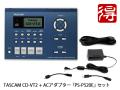 TASCAM CD-VT2 + ����AC�����ץ��� PS-P520E ���åȡʿ��ʡˡ�����̵����