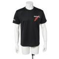 ドライ半袖TシャツMQ01/ブラック