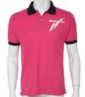 カノコポロシャツMQ02 ピンク/ブラック