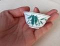 中国茶器 【茶杯 竹模様】