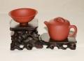 【紫砂壷 飾り台】 中国茶器 飾り台 紫砂壺 急須