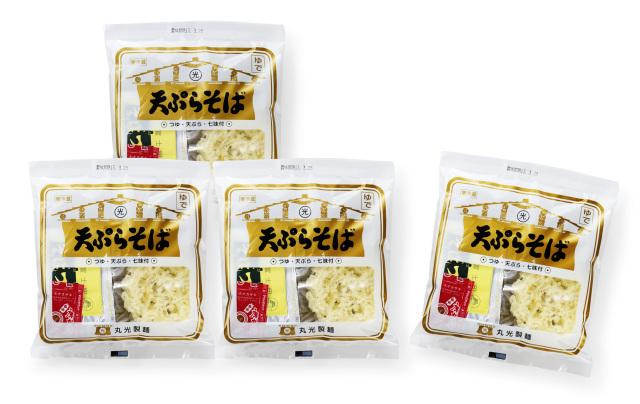 天ぷらそば 4食セット