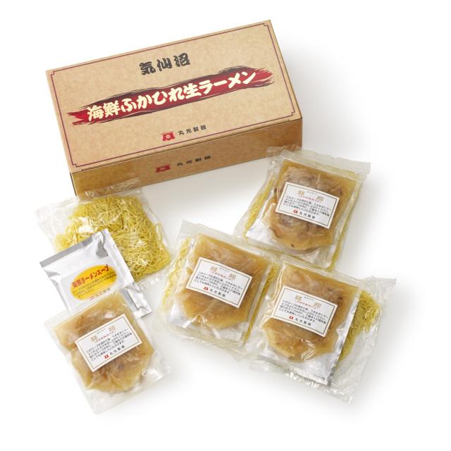 気仙沼海鮮・ふかひれ生ラーメン(4食入り)