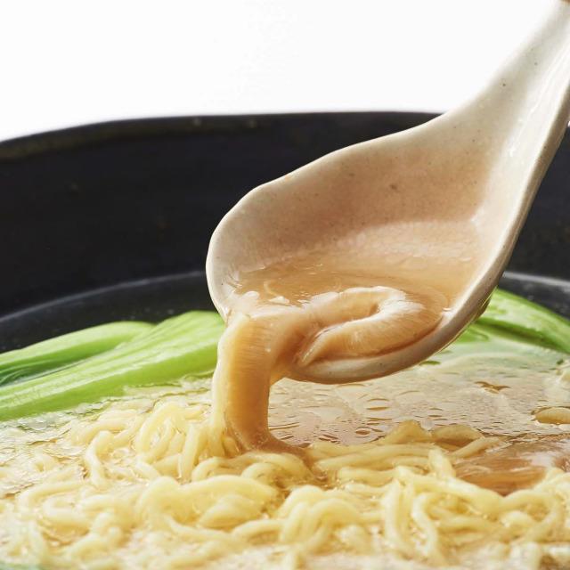 ふかひれラーメンの調理イメージ