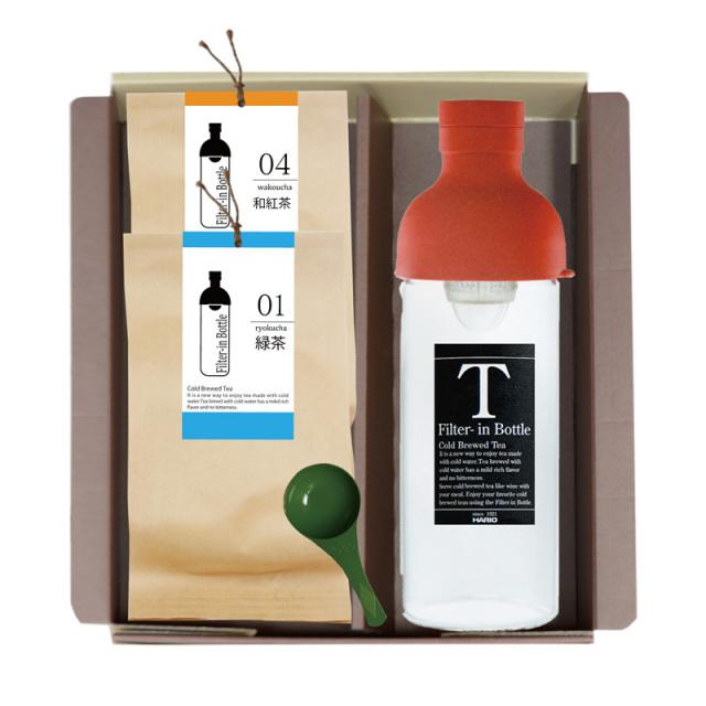 フィルターインボトル(300ml)+冷茶専用茶2袋セット