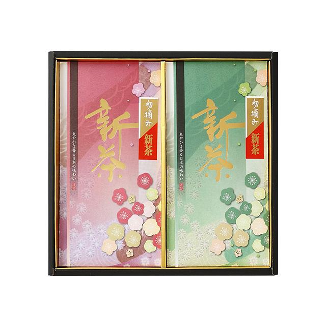 初摘み新茶/100g×2本 たとう紙入