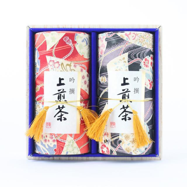 大正ロマン/上掛川深蒸し茶 老寿(ろうじゅ)180g缶×2本