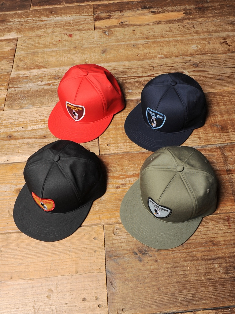 CALEE  「WAPPEN CAP」  ワッペンキャップ