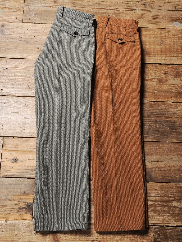 CALEE   「 TWEED TROUSERS 」  ツイードトラウザー