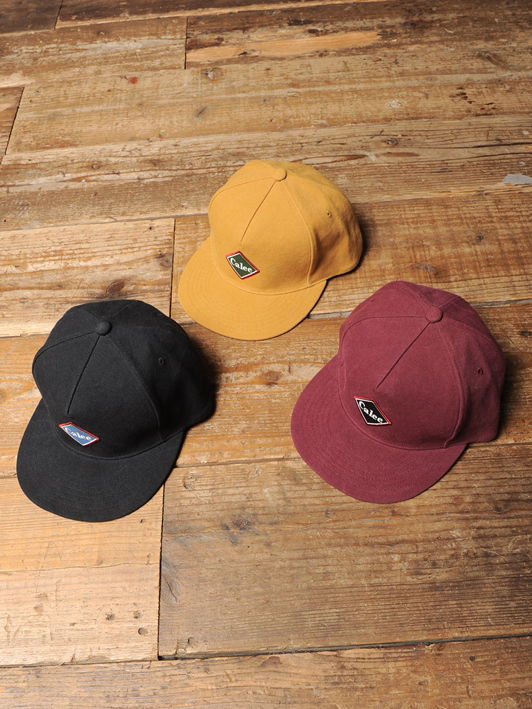 CALEE  「CANVAS WAPPEN CAP」  キャンバスワッペンキャップ