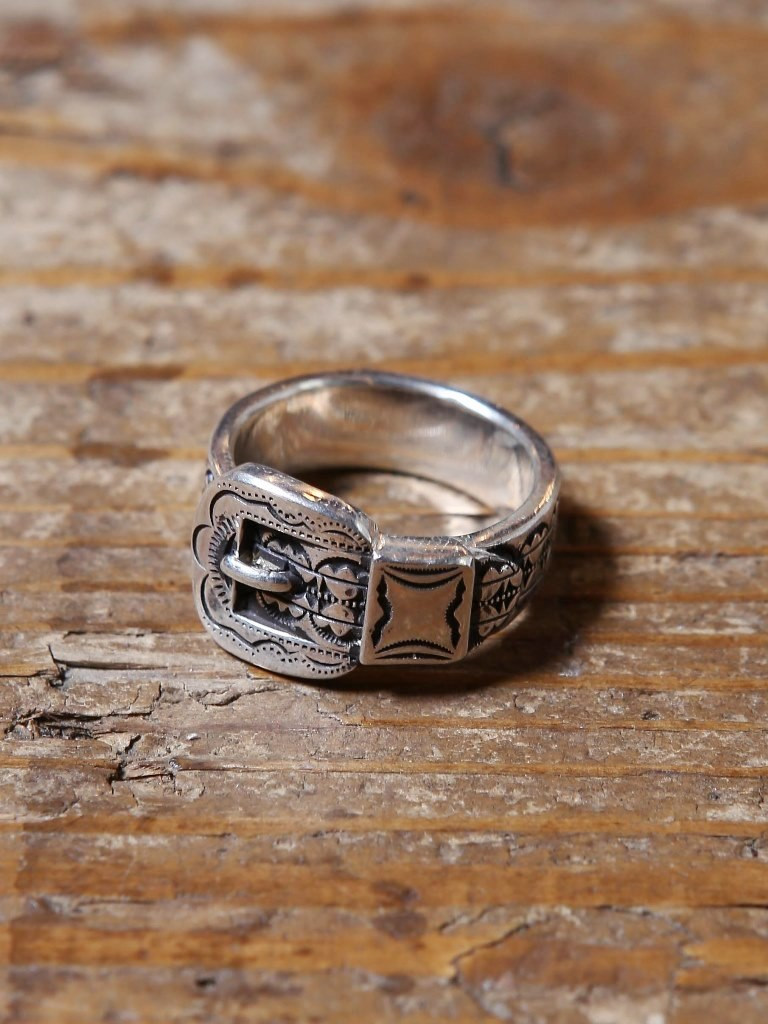 CALEE  「WESTERN RING 〈SILVER 925 〉」 SILVER製リング