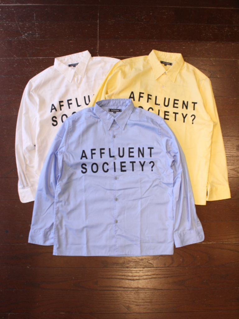 CAPTAINS HELM  「AFFLUENT SOCIETY WORK SHIRTS」  ワークシャツ