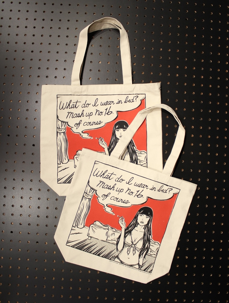 MASH UP  16th anniversary  「TOTE BAG 」 オリジナルトートバッグ