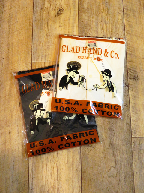 GLAD HAND  「STANDARD HENRY POCKET T-SHIRTS 〈USED加工〉」 ヘンリーポケットティーシャツ