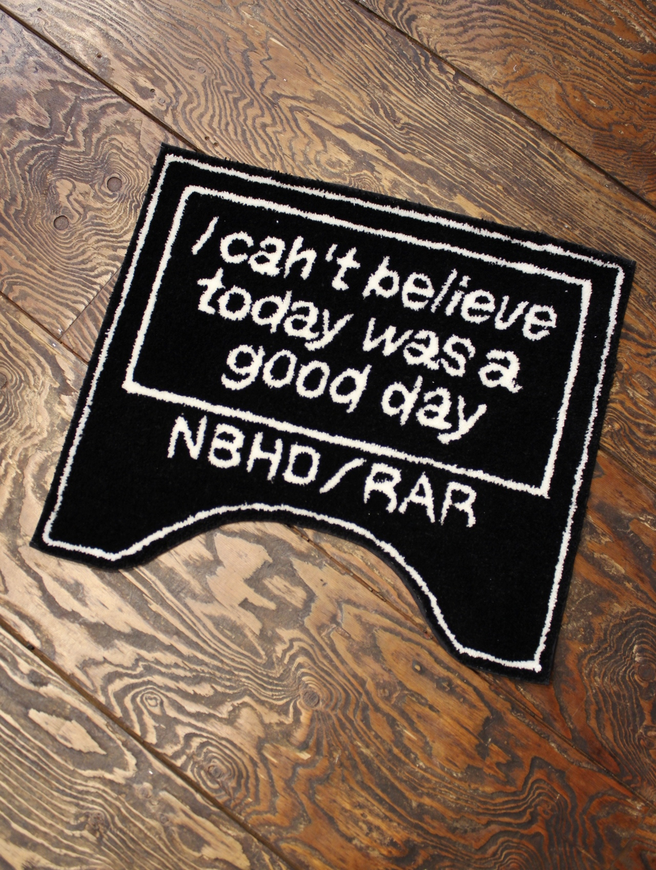 NEIGHBORHOOD × ROUGH AND RUGGED  「 NBHD×RARDC TOILET RAG 」 トイレラグマット
