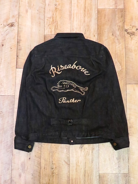 GANGSTERVILLE   「GREASER - JACKET 〈BLACK〉」  デニムジャケット