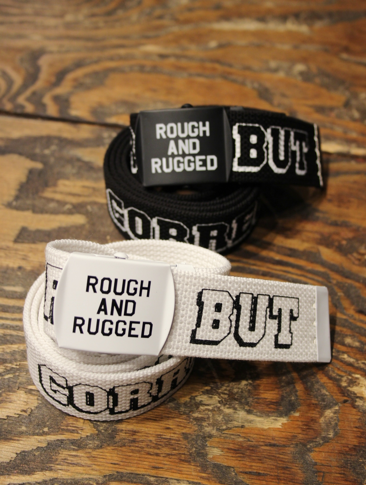 ROUGH AND RUGGED  「MIL BELT」 GI ベルト