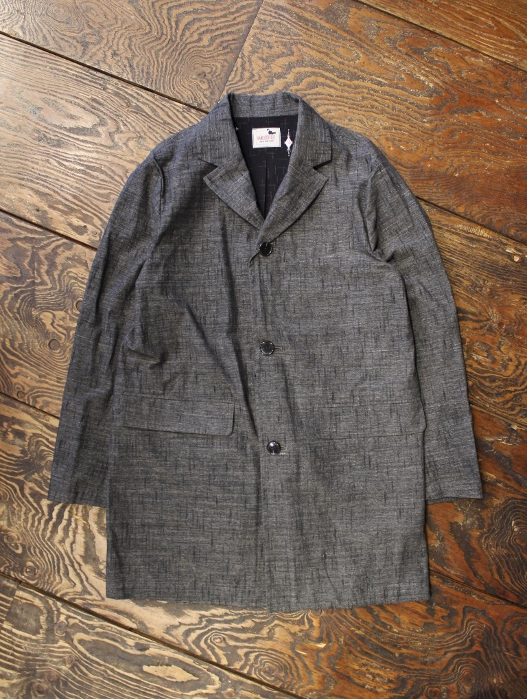 GANGSTERVILLE   「HARLEQUIN - COAT <BLACK>」  コート