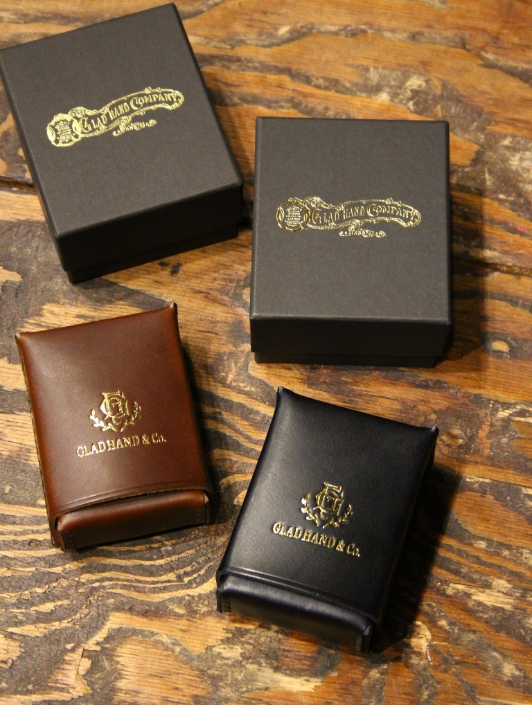 GLAD HAND   「GH LEATHER - CIGARETTE CASE 」  シガレットケース