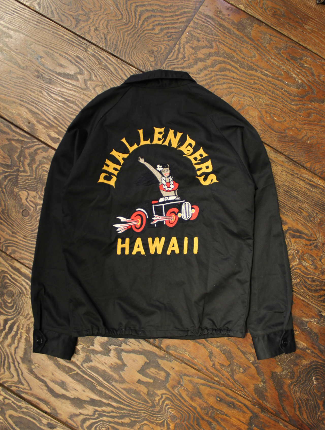 CHALLENGER   「HAWAIIAN WORK JACKET」 ドリズラージャケット