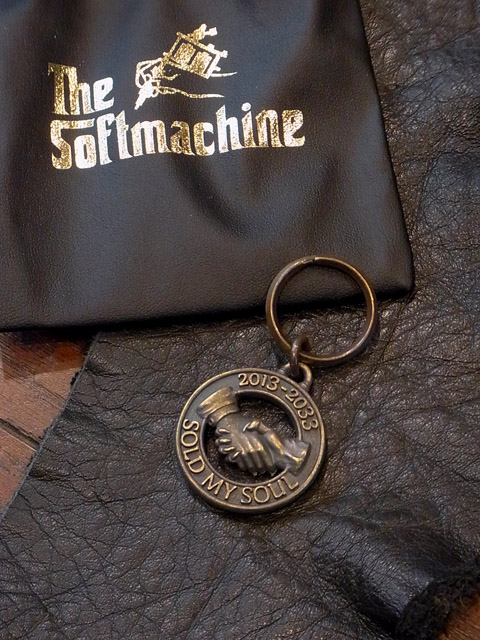 SOFTMACHINE 「S.M.S KEY CHAIN」 真鍮製キーチェーン
